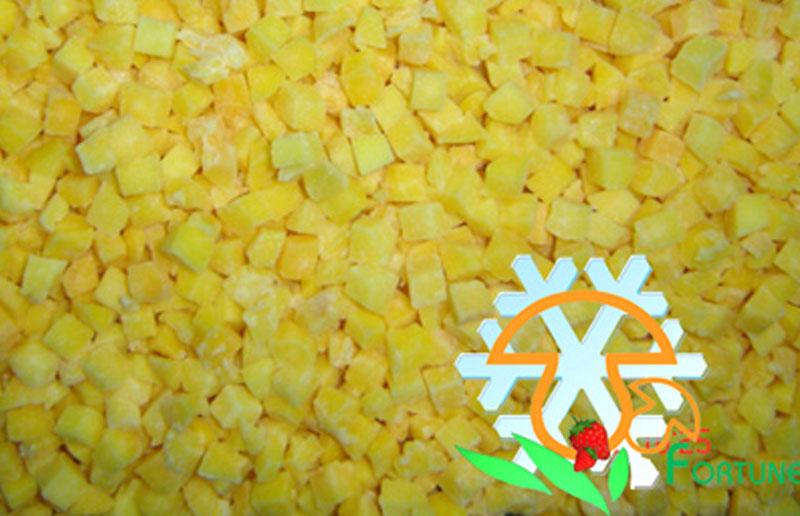 IQF Yellow Peach